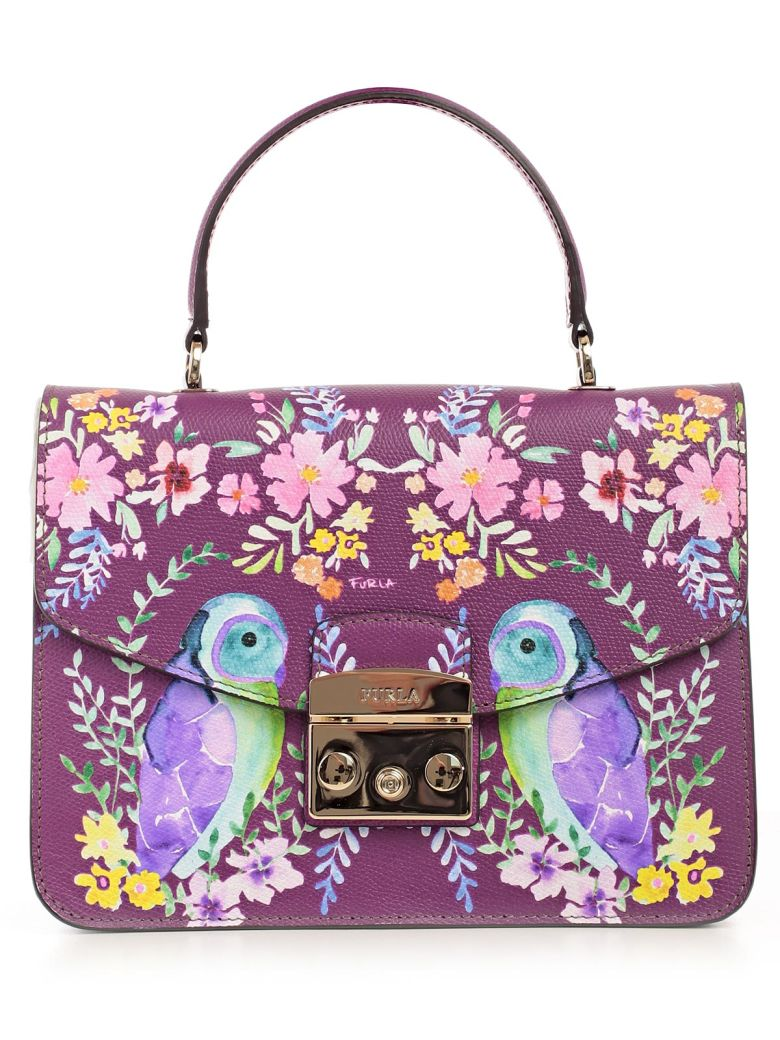 OWL PAINT METROPOLIS SHOULDER BAG