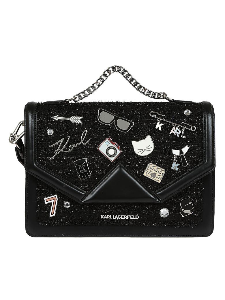 Karl Lagerfeld K / Klassik Broches Shoulderbag La Fourniture kPvhu