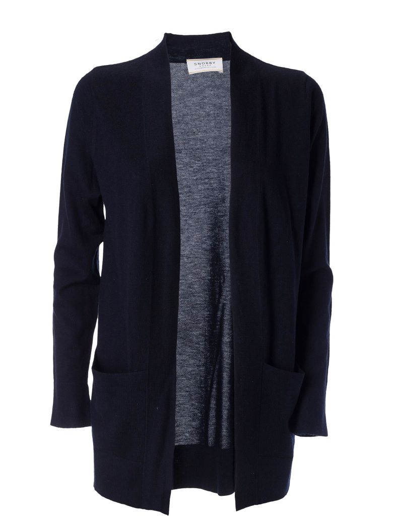 SNOBBY SHEEP LONGLINE CARDIGAN