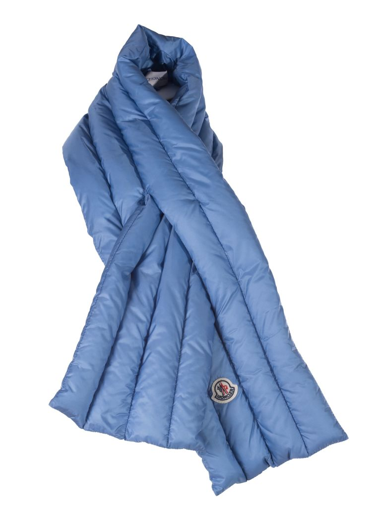 logo padded scarf - Blue Moncler 3Rwp2EHZS