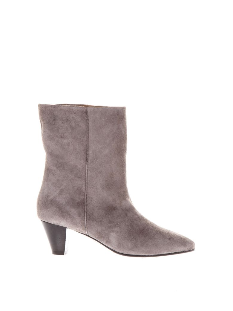 Sale Shop MARC ELLIS 50mm Heel Suede Boots Cheap Low Price Discount The Cheapest 1hioKtzpN