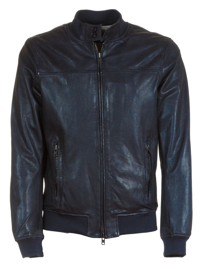 BULLY Classic Leather Jacket in Black