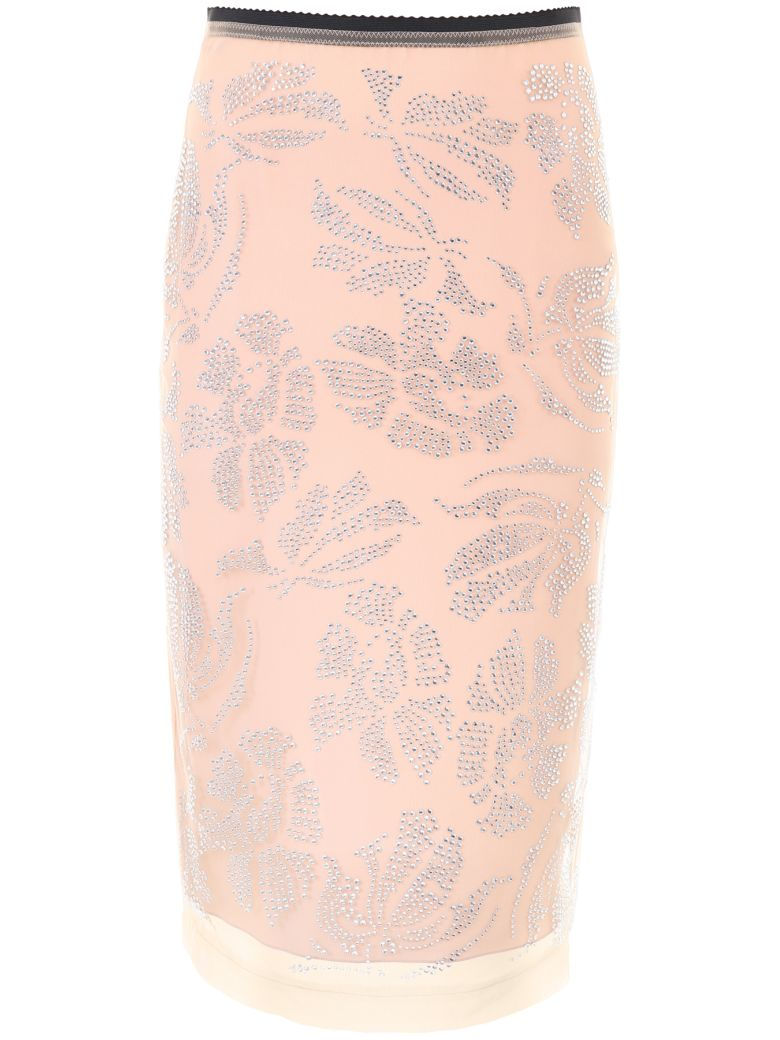 N°21  N.21 Embroidered Tulle Skirt