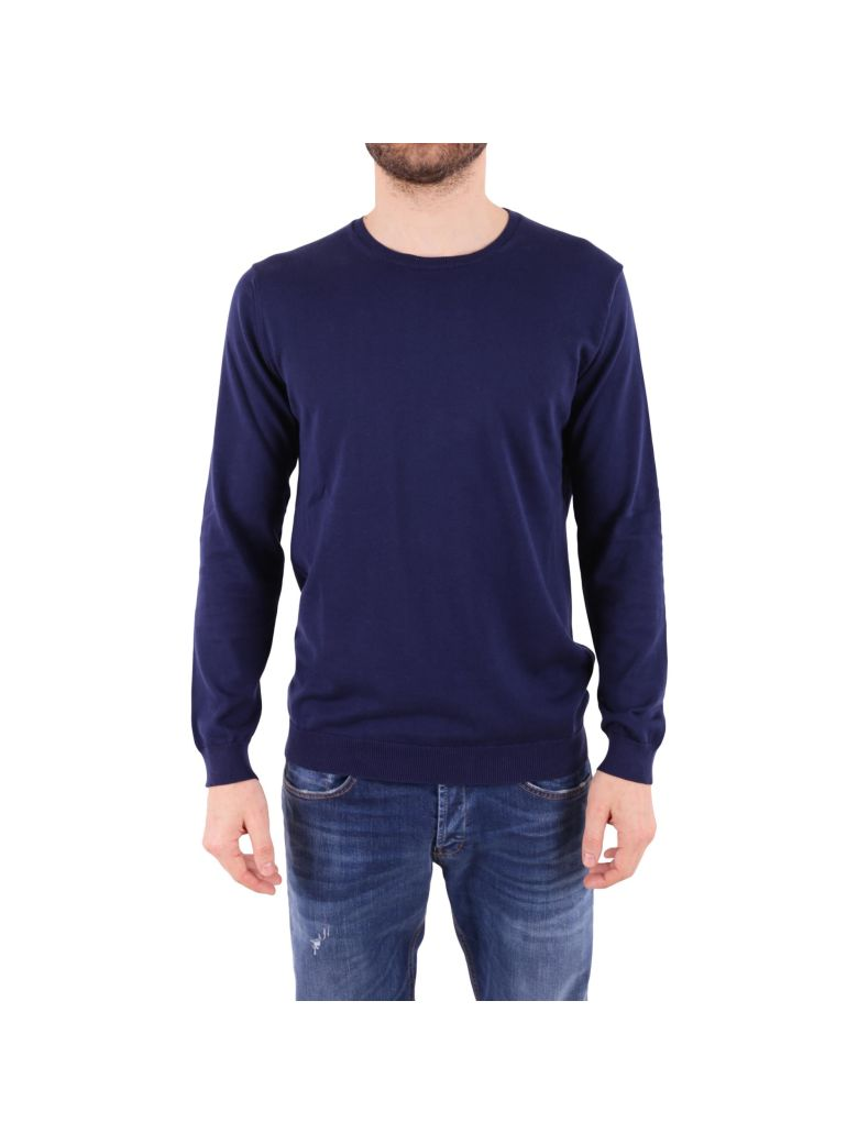 DANIELE FIESOLI Cotton Sweater in Blue