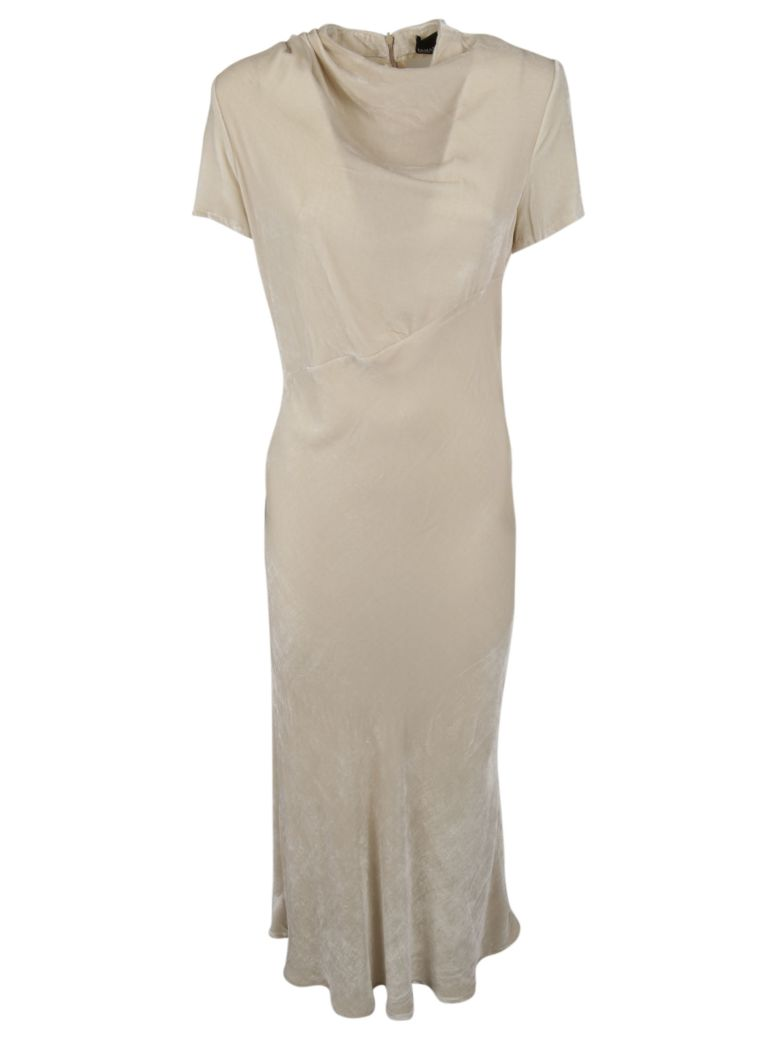ERMANNO ERMANNO SCERVINO Classic Long Dress in Light Brown