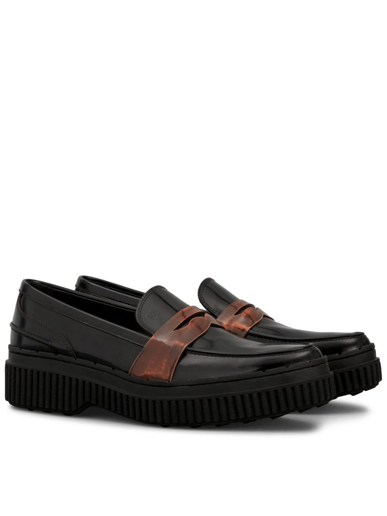TAPERED LOAFERS WITH MAXI SOLE