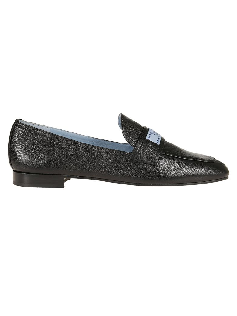 LOGO PATCH LOAFERS