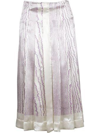 Victoria Beckham Patterned Skirt