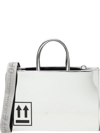 Off-White 'box Bag' Medium Borsa A Mano Mirror