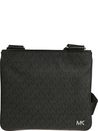 Michael Kors Logo Plaque Shoulder Bag
