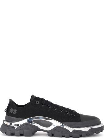Raf Simons Adidas By Raf Simons Detroit Runner Black Canvas Sneaker