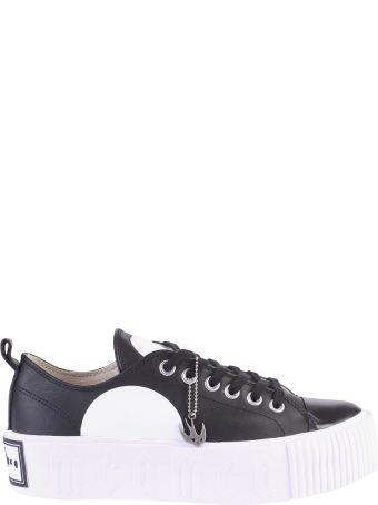 McQ Alexander McQueen Black Low Top Sneakers