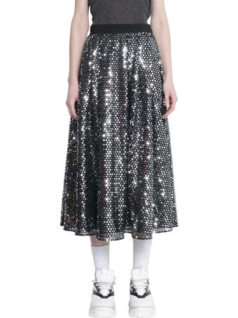 MSGM Sequined Tulle Skirt
