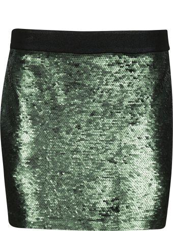 Black Coral Mini Skirt