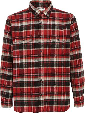 Saint Laurent Check Shirt
