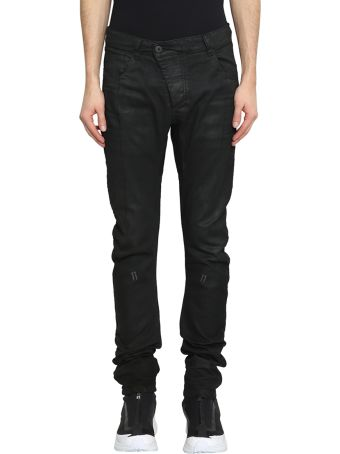 11 by Boris Bidjan Saberi Stretch Denim Black Jeans