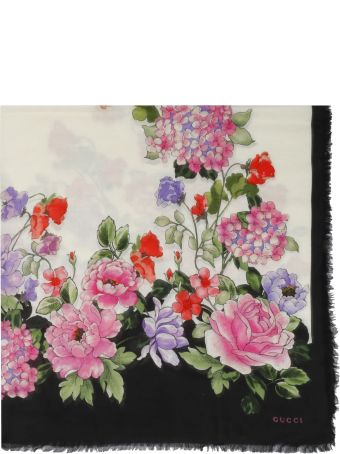 Gucci Rising Flower Scarf