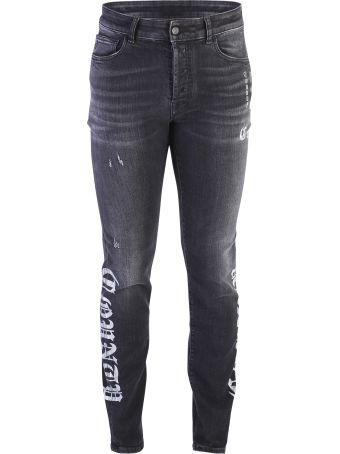 Marcelo Burlon Printed Denim Jeans