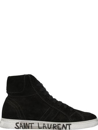 Saint Laurent Joe Mid-top Sneakers