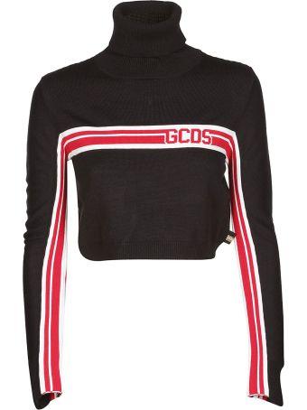 GCDS Logo Cropped Sweater