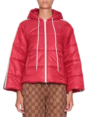 Gucci Cropped Down Jacket