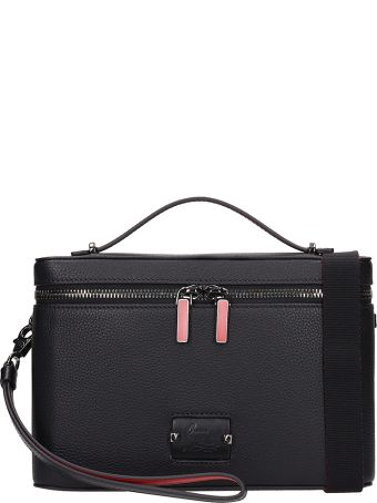 Christian Louboutin Black Calf Leather Kypipouch Bag
