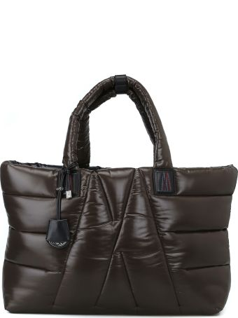 Moncler Powder Quilted Nylon Laqué Tote