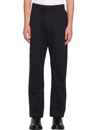 A plan application Navy Cotton Sweatpants