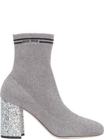 Miu Miu Sock Ankle Boot