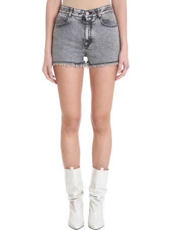 Stella McCartney Grey Washed Shorts