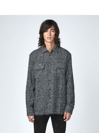 Laneus Wool Tweed Shirt