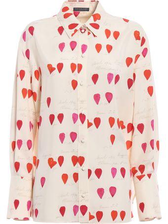 Alexander McQueen Petal Printed Mens Shirt