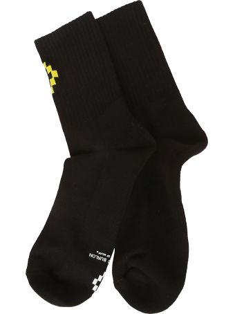 Marcelo Burlon Cross Short Socks
