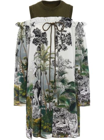 Alberta Ferretti Double Effect Dress