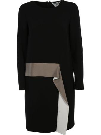 Max Mara Asymmetric Ruffled Dress
