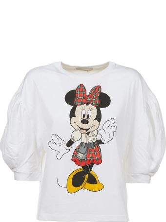 Christopher Kane Minnie Mouse Bubble Sleeve Top