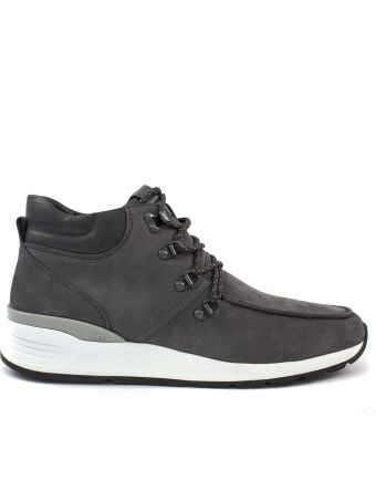 Tod's Ankle Boots In Grey Nubuck.