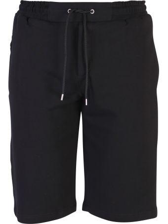 McQ Alexander McQueen Black Branded Shorts