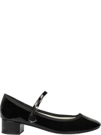 Repetto Rose Patent Leather Pumps