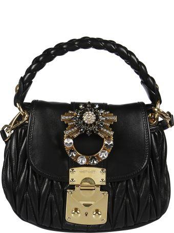Miu Miu Mini Matelassé Shoulder Bag