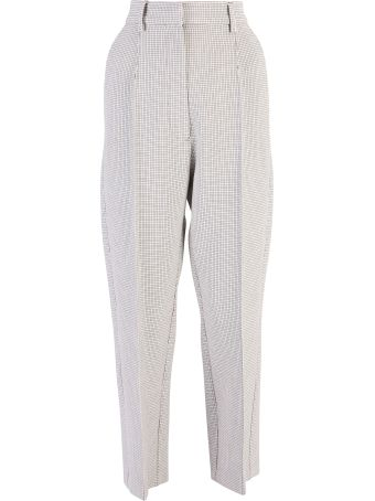 MM6 Maison Margiela Beige Cropped Trousers