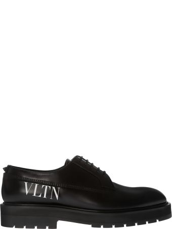 Valentino Logo Derby Shoes