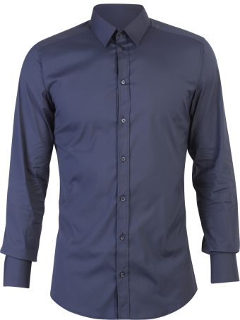 Dolce & Gabbana Blue Stretch Shirt