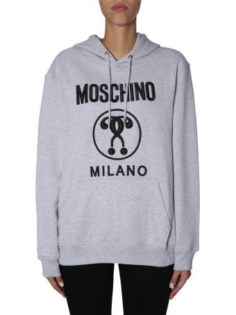 Moschino Oversize Fit Cotton Sweatshirt