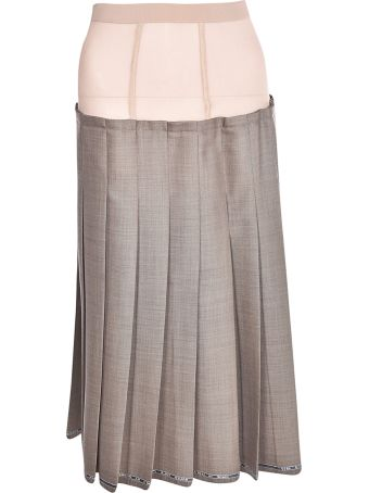 Erika Cavallini Flared Layered Skirt