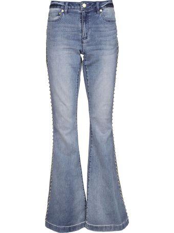 Michael Kors Studded Flared Jeans