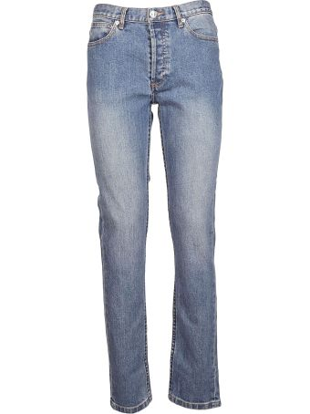 A.P.C. Washed Effect Jeans