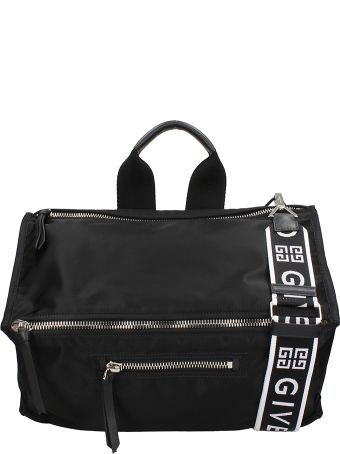 Givenchy Black Pandora Bag From Givenchy Featuring A Rectangular Body