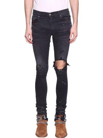 AMIRI Artist Broken Cotton Denim Jeans