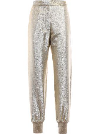 Stella McCartney Trousers Georgette Lurex